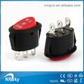 aparato electrodoméstico eléctrico ovalado pequeño interruptor basculante con luces de neón