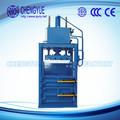 profesional vertical hidráulico prensa de balas de crudo de algodón balas vertical de la máquina del compresor