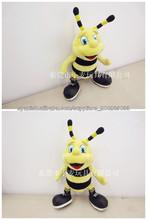 juguete de peluche lindo popular de la abeja para los niños