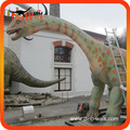 Realistic escultura dinossauro animatronic para jardim