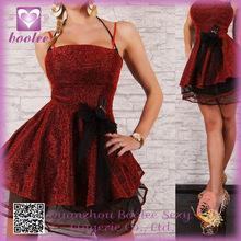 Venta caliente vestido de la princesa del cordón del PP2101 alta moda ropa de dormir de noche atractivo Clubwear para las mujere