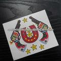 niños de dibujos animados diseño del tatuaje temporal