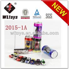 Wl juguetes venta caliente de metal 1:63 de control de radio mini rc coche de carreras de juguetes