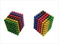bolas magnéticas de NdFeB del cubo