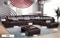 venta caliente esquina sofá de cuero 918#