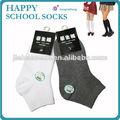 vender calcetines uniformes estudiantiles escuela algodón Fábrica de China Calcetines