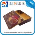 CH Dongguan lata caja rectangular latas de pintura al por mayor