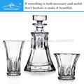 vente en gros de promotion du vin bon cristal république tchèque vaisselle en verre de whisky carafe