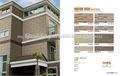nuevo diseño de la pared exterior del azulejo 3d de inyección de tinta de impresión de azulejo rústico