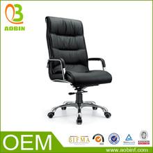 sintéticas silla giratoria de cuero para ejecutivos