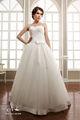 2014 desginer de brillante blanco bordado de la boda vestidos para las mujeres embarazadas