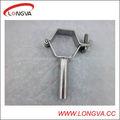 soporte para tubos de acero inoxidable sanitario