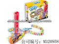 YiZhi juguetes eléctricos de dominó dependientes luces y sonido