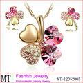 trébol de cristal la joyería del oro dubai