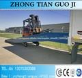 10 ton rampa caminhão usado doca de carregamento, rampa móvel para contentores