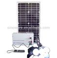 Sistema De Energia Solar 10W - 1000W Con Control Remoto Y Phone Charger Energía Renovable Para El Hogar Interior