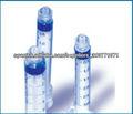 Buena calidad!! 1ml luer lock Jeringa desechable esteril