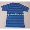 2014 Brasil selección de camiseta de fútbol color azúl uniformes visita de mayorista