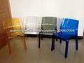 silla de plástico