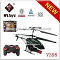 Wl v398 3.5 canales de radio control helicóptero del rc