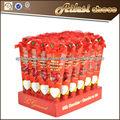 80 g de chocolate de San Valentín del corazón del chocolate ramos