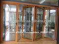 Interior de aluminio baratos bi- puerta plegable