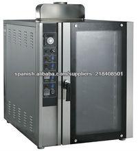 horno de panadería convección precio de fábrica de alta calidad eléctrica / gas TSC-8Q