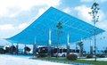 APET color de cubierta de plástico transparente