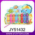 A música popular bebê divertido brinquedo 8 teclas EVA musical bater piano de brinquedo para a venda