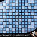 TCGW701 azul mosaico de cerámica mixta para azulejos de baño