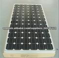 190W Grado A PV Mono sistema de placas solares