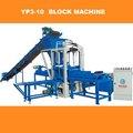 YP8-20 Bloque de hormigón de la máquina de venta de materiales de construcción con el revestimiento de la máquina mezcladora JS