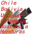 perfil de aluminio exportación a Chile, Bolivia, Uruguay, Colombia, Guatemala más de 10 años