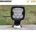 6 pulgadas 80W luz de led para carros MD-6800