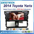 "ZESTECH Navegación 7"" pantalla táctil radio Para Toyota Vios Yaris 2014 Dvd GPS del Coche bluetooth/TV/Radio/ISDB/DVB-T2/Dvd/Gps"