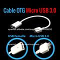 Cable OTG Micro usb 3.0 On the go para Samsung Galaxy Note 3 N9000 N9005 nuevo