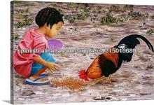 niños pinturas al óleo
