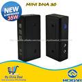 2014 nueva llegada hana 35 W hcigar mod dna30 mini box