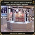 móveis balcão cosméticos em exposição cosmética