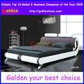 Nuevo modelo cama tapizada francés
