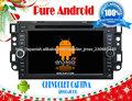 Puro Android 4.2 CHEVROLET AVEO coche DVD GPS con pantalla capacitiva Multi Touch, incorporado 8G Flash A9 1GHz de doble núcleo