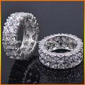 anillo de la joyería de circón