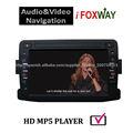 Fábrica que vende directamente pantalla de TV coche reproductor del GPS USB SD IPOD para el reproductor del coche Renaul duster