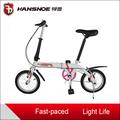 14 pulgadas niños coloridos bicicleta plegable