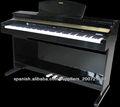 La fabricación de pianos piano teclado del instrumento musical tg-dp3600