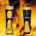 botas de extinción de incendios