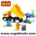 cogo ladrillos Médium ingeniería serie compatible con lego
