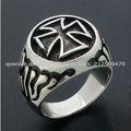 anillo de acero fashoin
