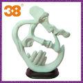 2013 moda chinesa moderna escultura amor beijo China escultura moderna humano atacado