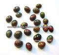 Natural Rojo Opal Oval Cabochon piedra preciosa floja del fabricante